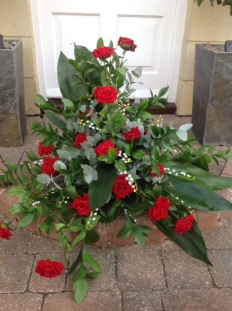Pedestal Arrangement on Step