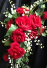 Picture of Red Bridal Shower Bouquet