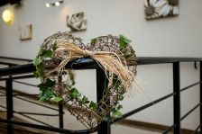 Rustic willow wreath