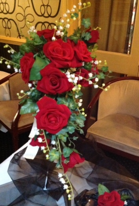Wedding Fayre Red Roses