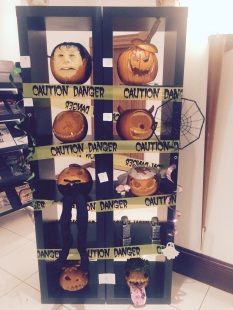 Halloween pumpkins by the teams at Marriott Swindon