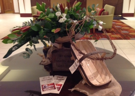 Sussex trug at The Marriott