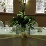 Cala Lily Table Decoration