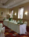 Wedding Table at Marriott Hotel