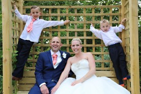 Bride - Groom and Family