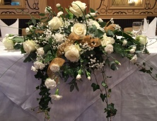 Fresh flower bouquet and centrepieces 1