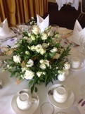 Fresh flower bouquet and centrepieces 10