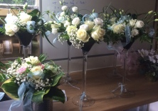 Fresh flower bouquet and centrepieces 2