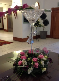 Fresh flower bouquet and centrepieces 3